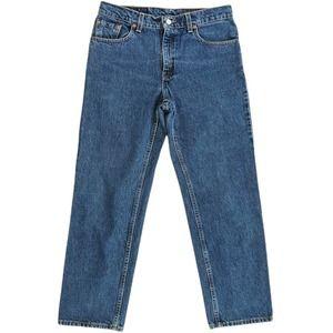 Levi's 555 Guy's Fit Denim Jeans Blue Size 10P M